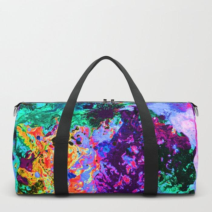 90's Windbreaker Duffle Bag