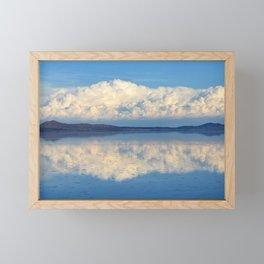 Salar de Uyuni, Salar de Tunupa, Bolivia Framed Mini Art Print