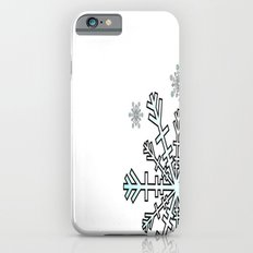 Minimalistic Snowflake Christmas iPhone 6 Slim Case