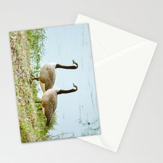 Gazing Geese Stationery Cards