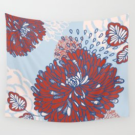 Crisantemo Wall Tapestry