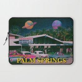 greetings from palm springs Laptop Sleeve