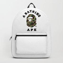 Bape Woodland Camo Backpack