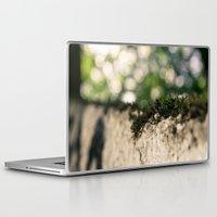 moss Laptop & iPad Skins featuring moss by andrea-ioana