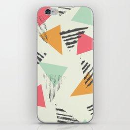 Geometric Mint Pattern Design 015 iPhone Skin