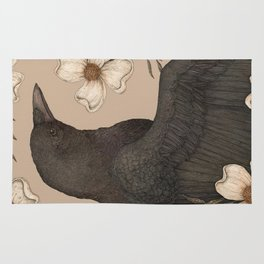 The Crow and Dogwoods Rug