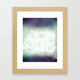 Spirit Bears Framed Art Print