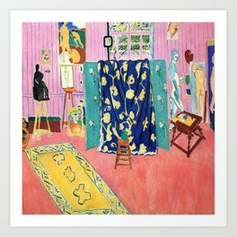 Henri Matisse The Pink Studio Art Print
