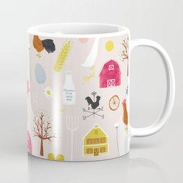 Vintage Farmyard Coffee Mug