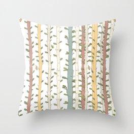Birch magic wood Throw Pillow
