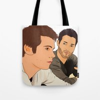 san diego Tote Bags featuring san diego by Finduilas