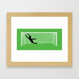 Leaping Keeper Framed Art Print