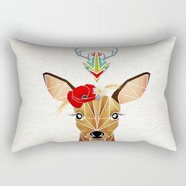 biche oh ma biche ! Rectangular Pillow