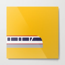 Seattle Monorail Pop Art - Seattle, Washington Metal Print