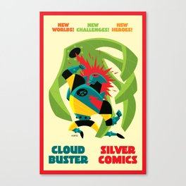 Cloud Buster Vs. The Spores of Odasi Canvas Print