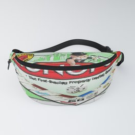 Monopoly Board Game Painting Fanny Pack