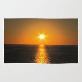 Caribbean Ocean Sunset Rug