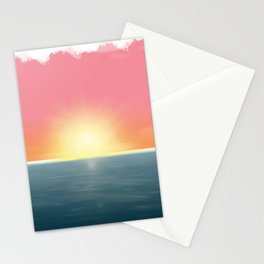 Peaceful Current Stationery Cards