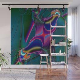 Neural Conduction Wall Mural