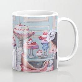 Marie Antoinette Eats Cake Coffee Mug