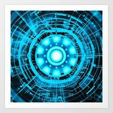 Arc Reactor Art Print