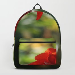 Red Canna Lily Backpack