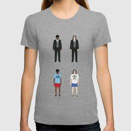 Pulp Fiction - Versions of Jules Winnfield and Vincent Vega (Version 02) T-shirt
