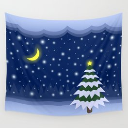 Christmas fairytale Wall Tapestry
