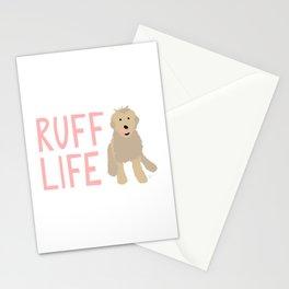 'Ruff Life' Dog Goldendoodle Stationery Cards