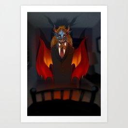 il Diavolo Art Print