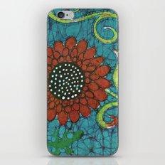 Kate's Flower Batik iPhone & iPod Skin