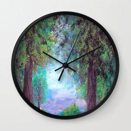 """Peaceful"" Wall Clock"