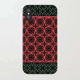 Art Deco Bohemian Mosaic 2 iPhone Case