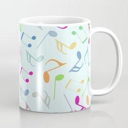 Music Colorful Notes Coffee Mug