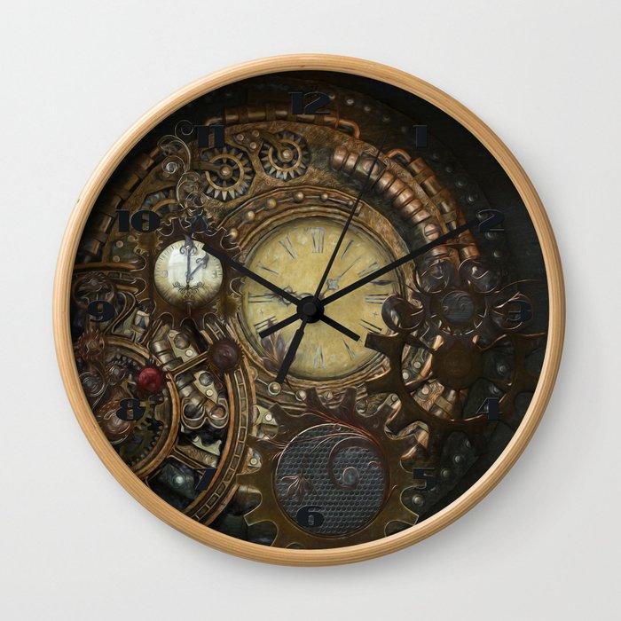Steampunk Clocks Wall Clock