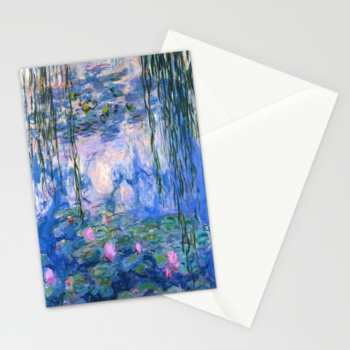 Water Lilies Monet Stationery Cards