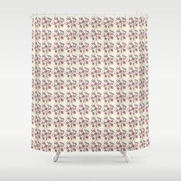 Half way pattern Shower Curtain