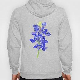 Bluebonnet Watercolor Hoody