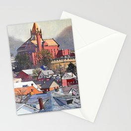 Mountain Queen Stationery Cards