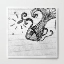 Lindo, lindo pecesito Metal Print