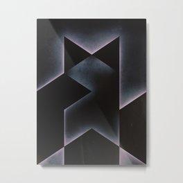MASTERED Metal Print