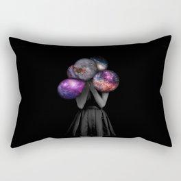 space balloons Rectangular Pillow