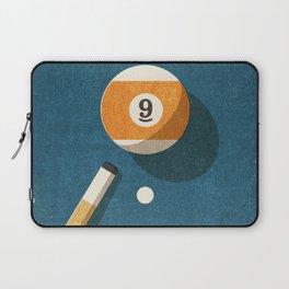 BILLIARDS / Ball 9 Laptop Sleeve