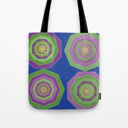 Unbalanced octagon Tote Bag