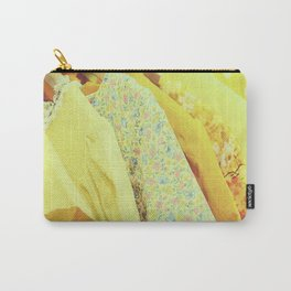 Yellow Dresses Carry-All Pouch