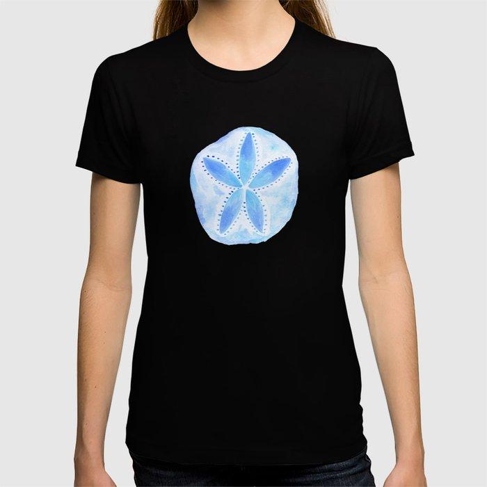 Mermaid Currency - Blue Sand Dollar T-shirt