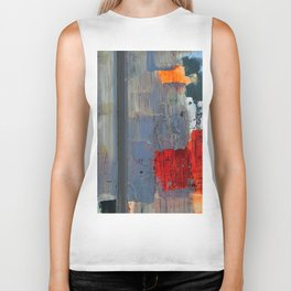 Love Abstract Biker Tank