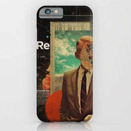 Exhaling My Thoughts iPhone Case