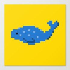 8-bit Seal Canvas Print