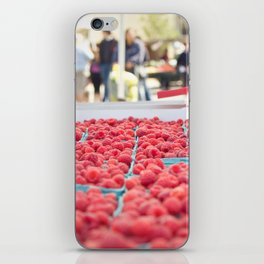 Raspberries iPhone Skin